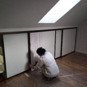 Travaux intérieurs plafonds murs